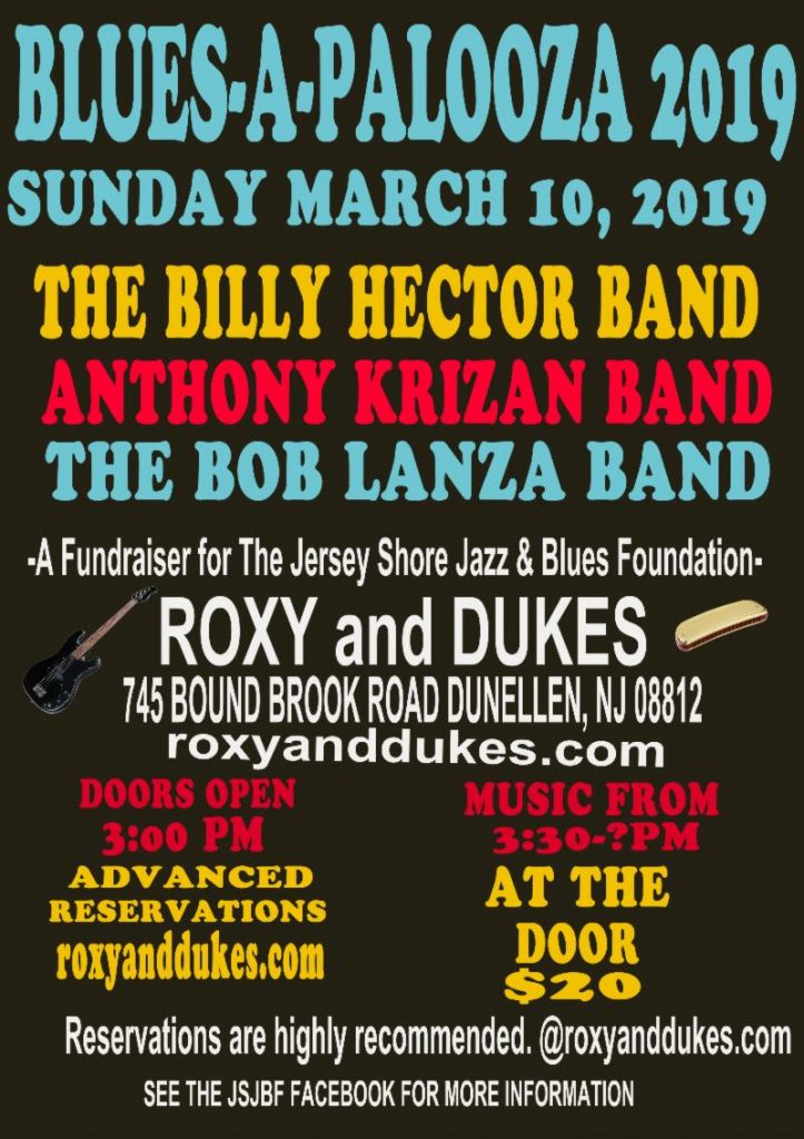 Blues-a-Palooza 2019