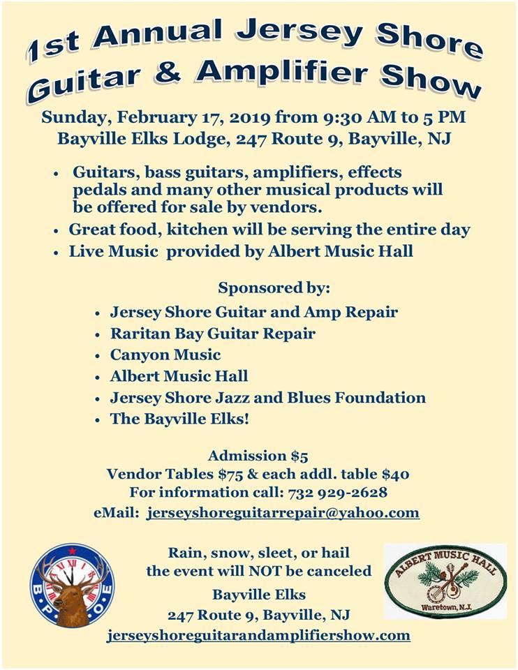 Jersey Shore Guitar Show