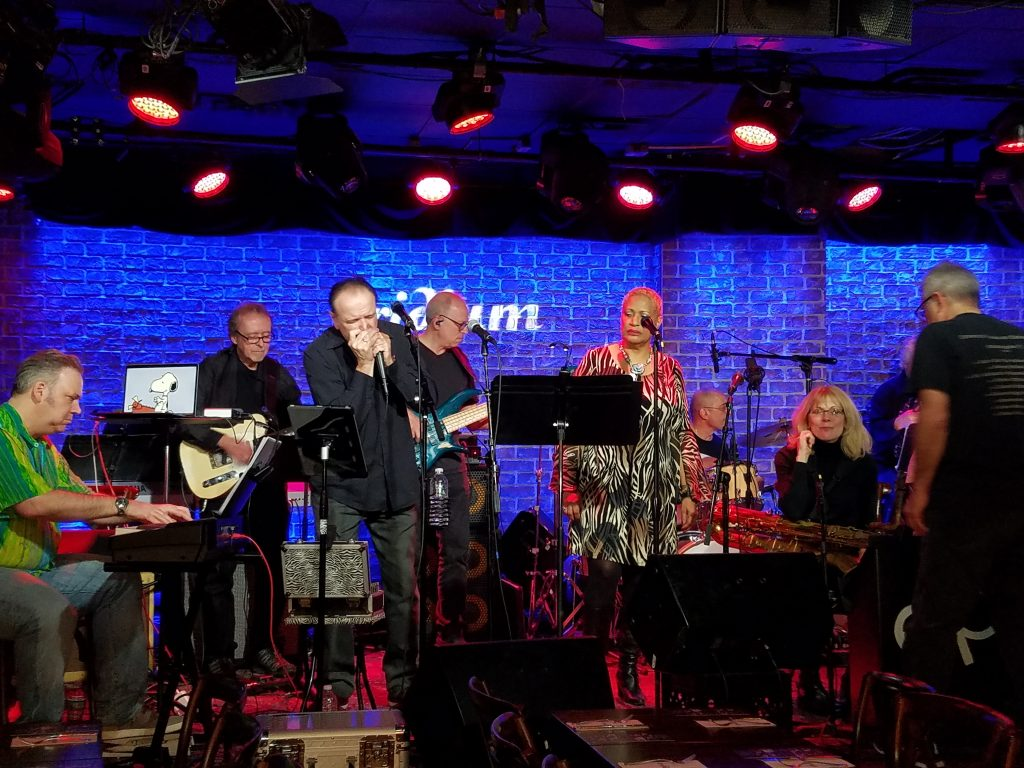 Rob Paparozzi with The Ed Palermo Big Band at the Iridium 3/2/19