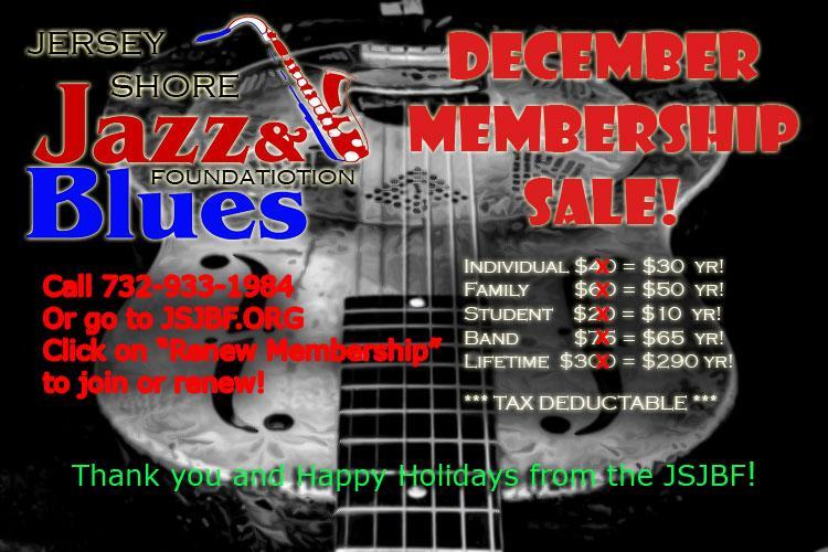 December Membership Discounts