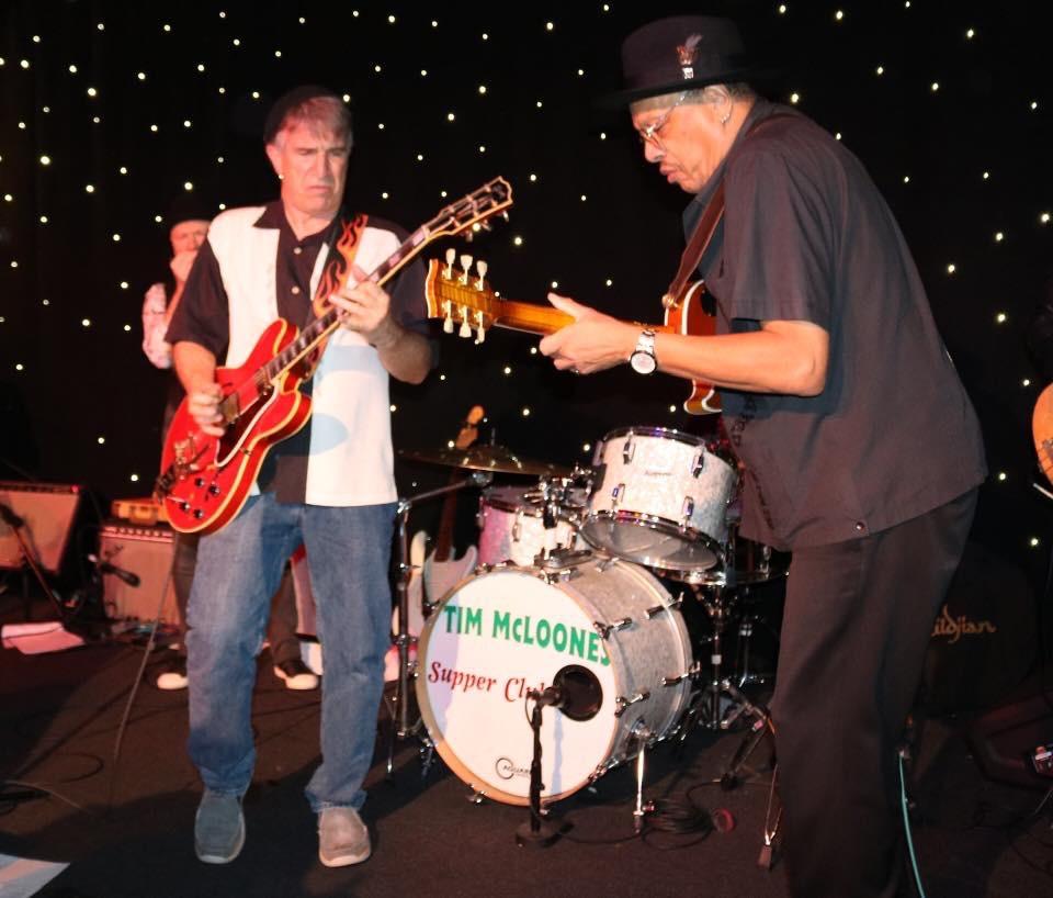 John Fernandez and Chuck Lambert