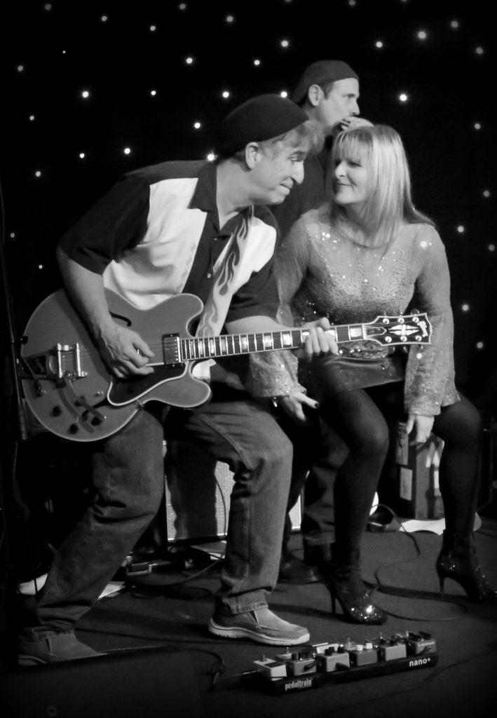 John Fernandez and Kim White