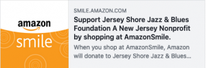 amazon smile for JSJBF