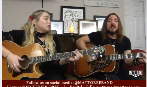 Matt O'Ree Band Live Stream
