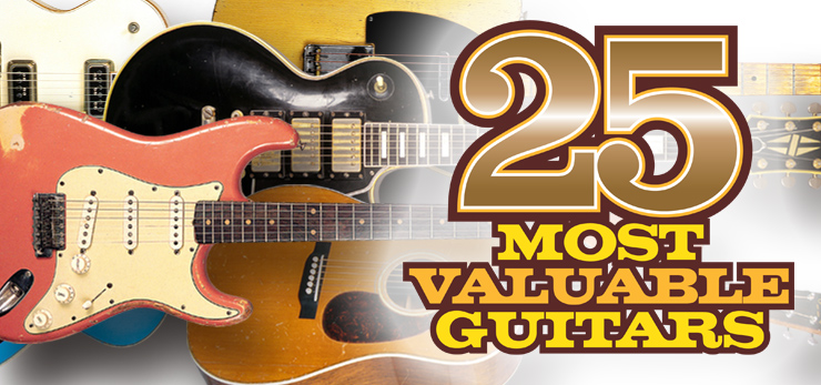 25 most valuable guitars