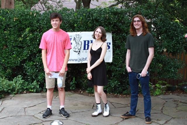 3 scholarship recipients