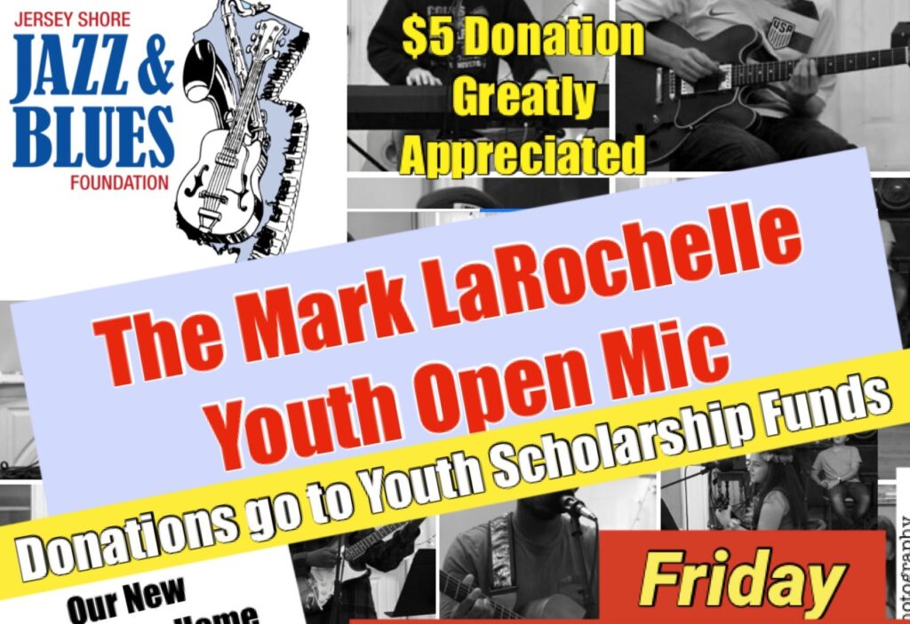 The Mark La Rochelle Youth Open Mic Night Kicks off 2021!