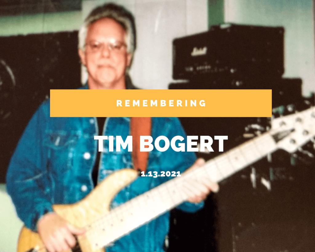 Remembering Tim Bogert
