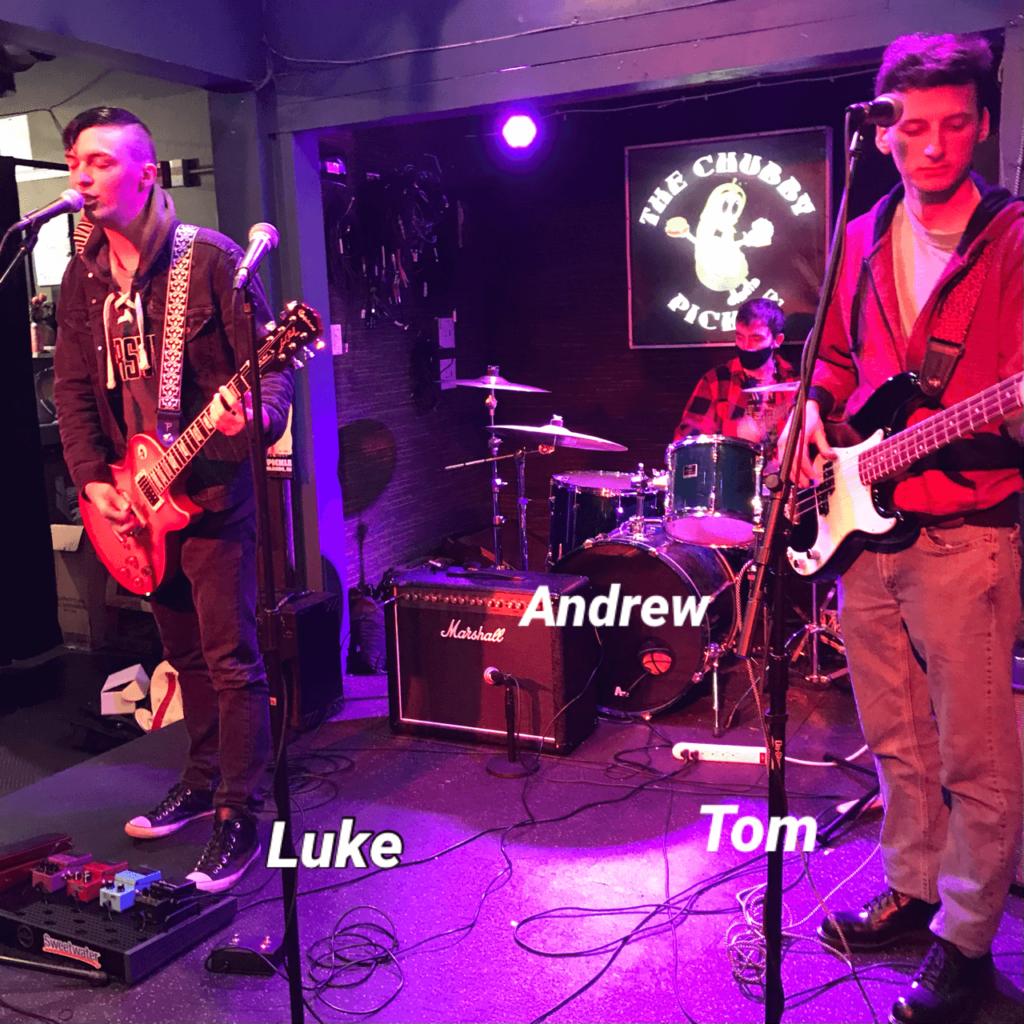 Andrew, Luke, Tom