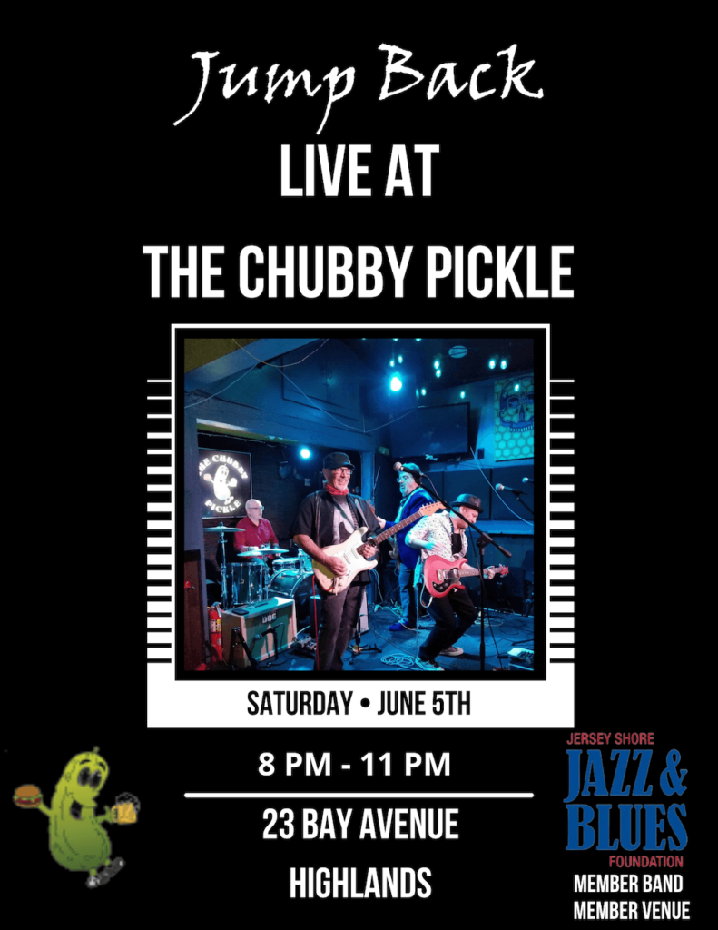 Jump Back at The Chubby Pickle
