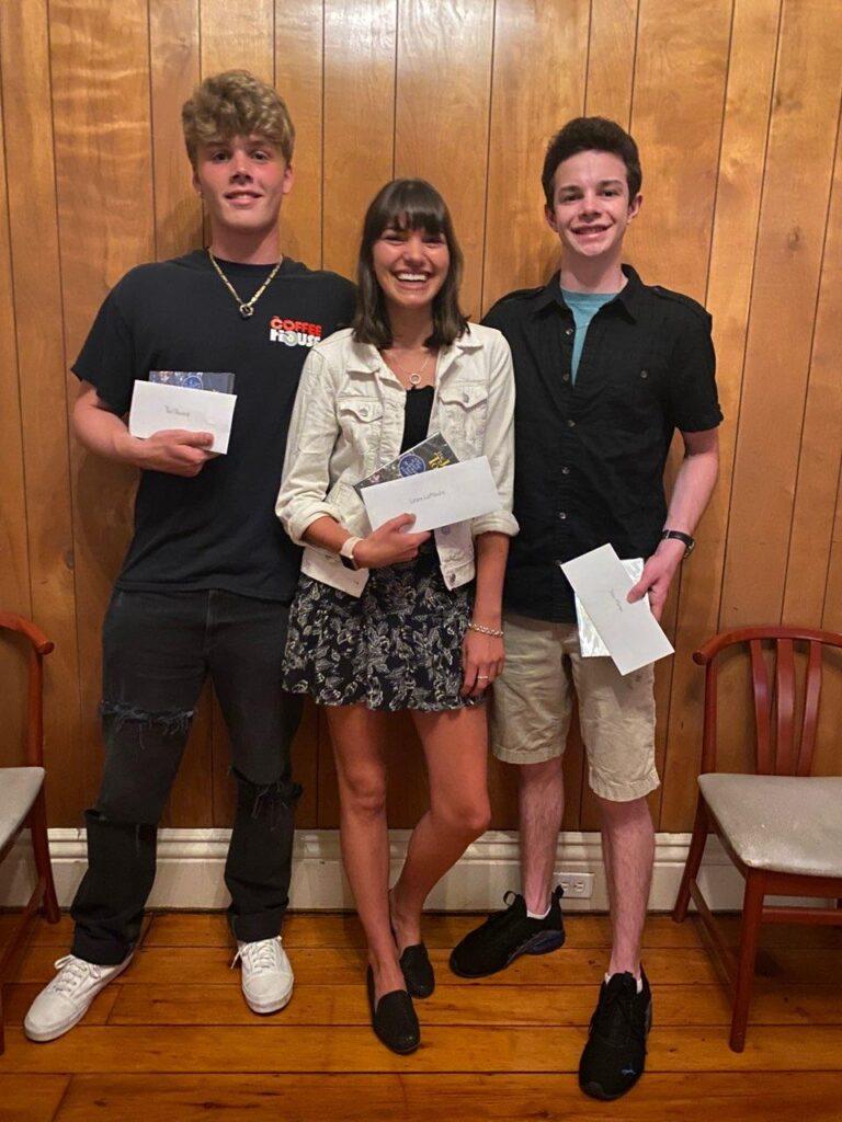 Paul Reinhold, Lexie LaPlante, and Jason Moran