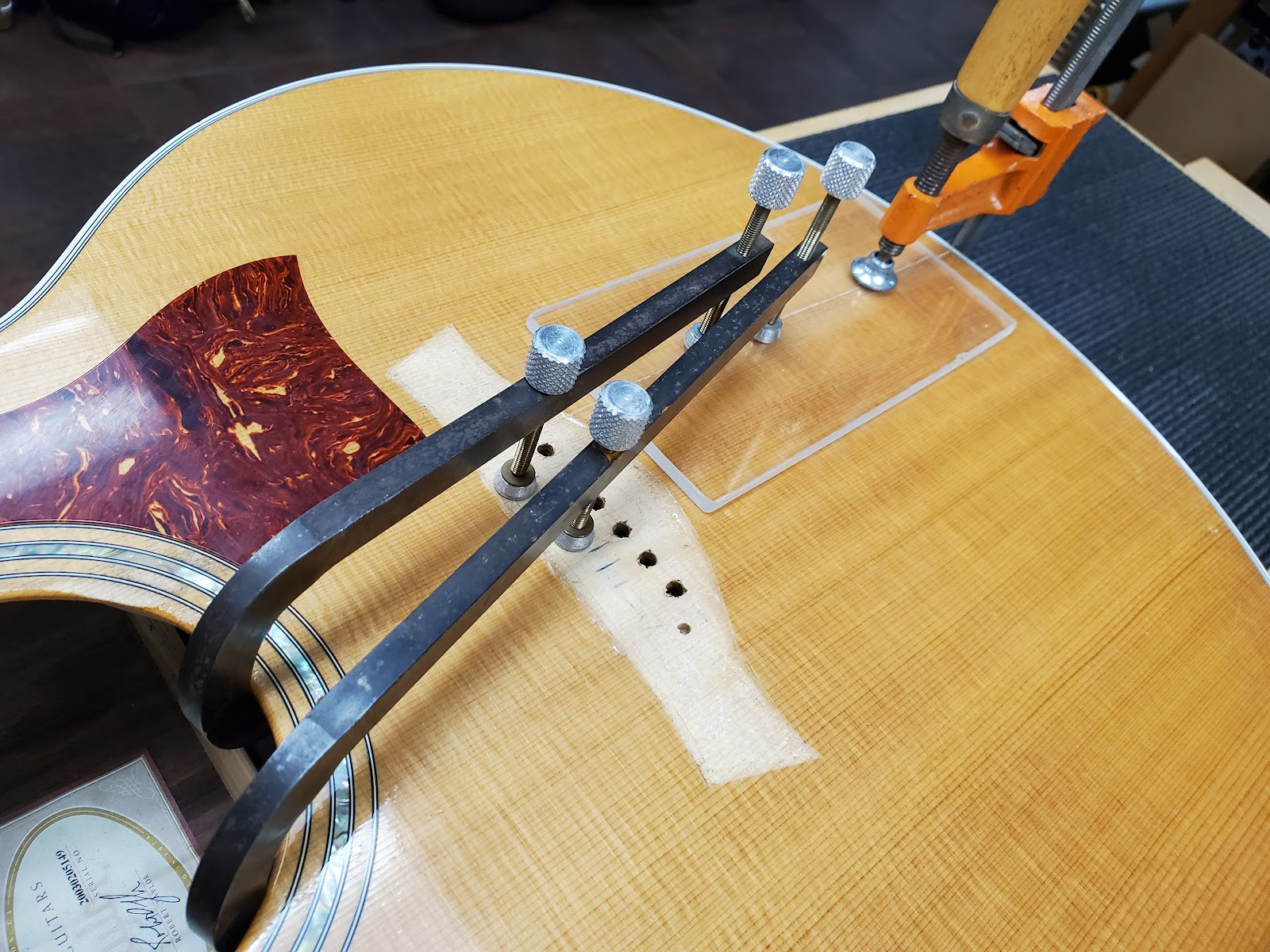 Taylor 815ce on Billy's Bench