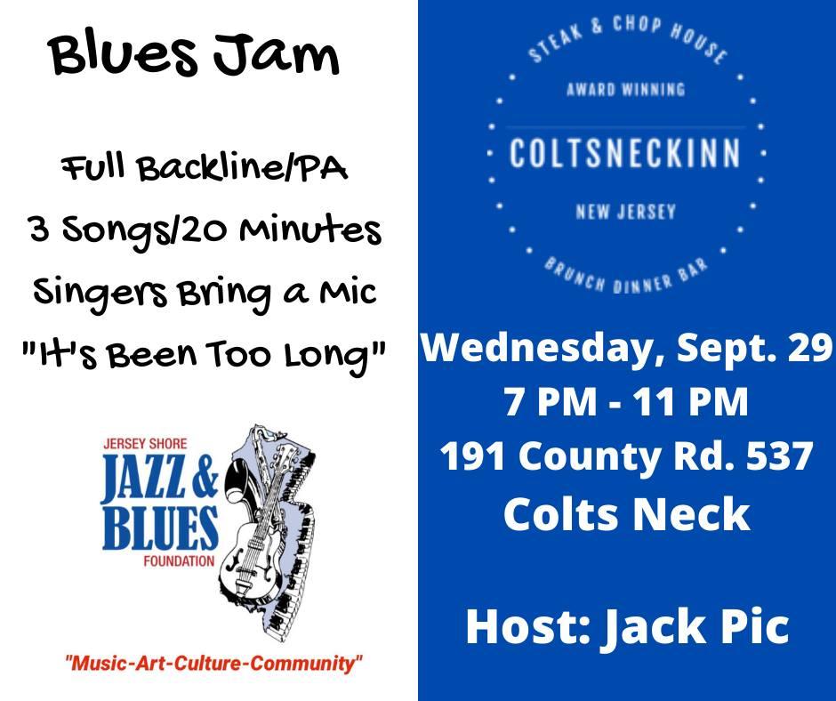 Blues Jam at the Colt's Neck Inn
