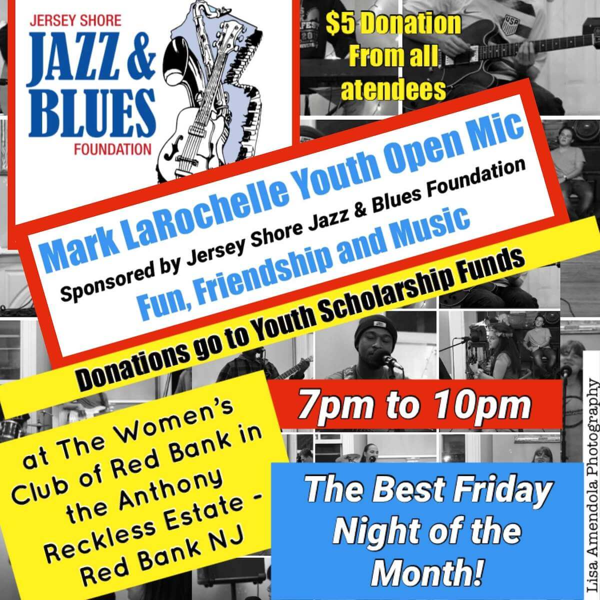 The Mark La Rochelle Youth Open Mic Night on Sept 10th