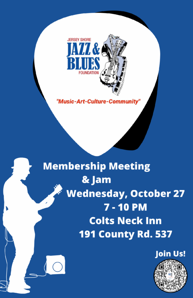 JSJBF October Membership Meeting & JAM Session